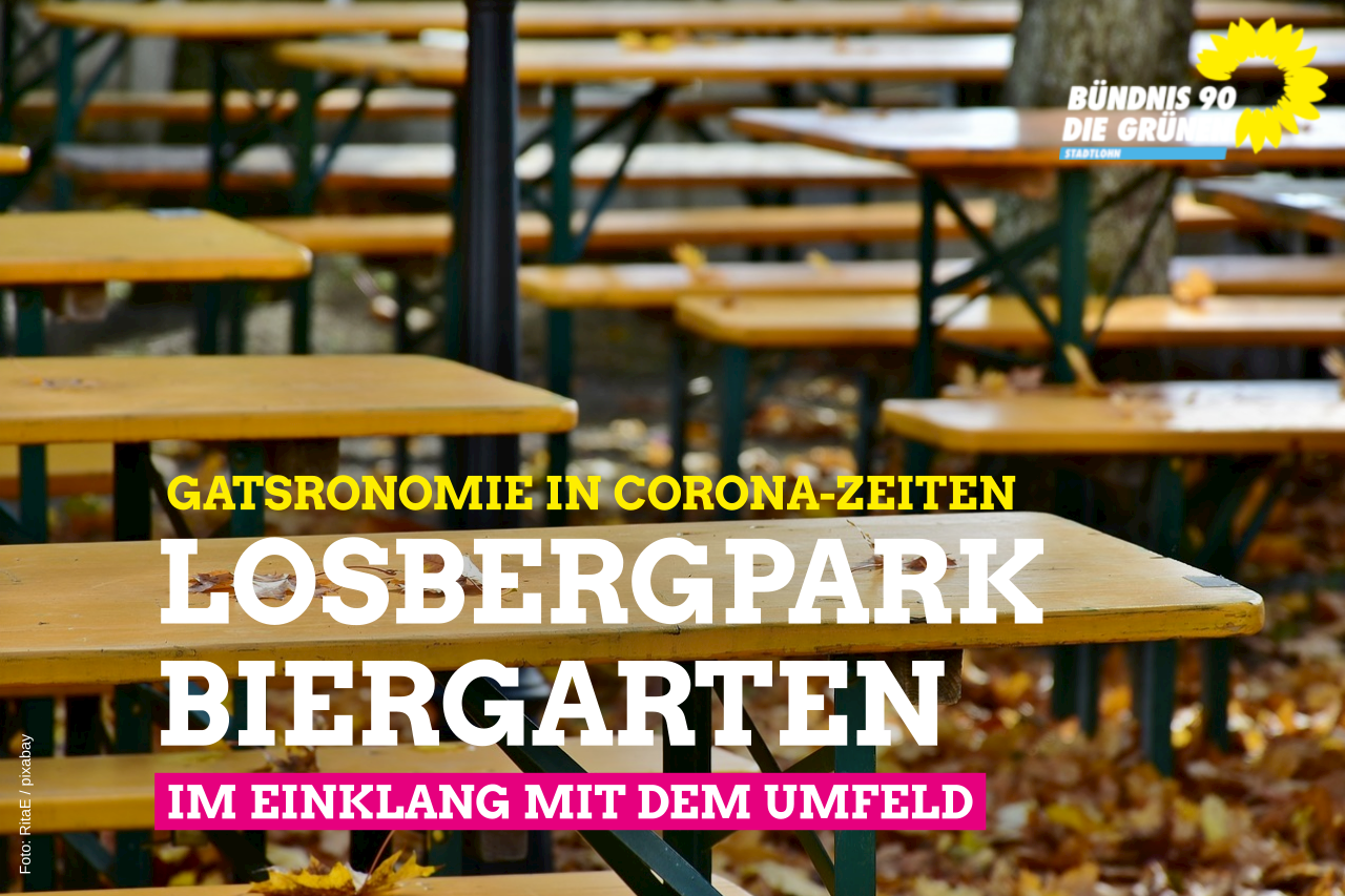 Losbergpark-Biergarten genehmigt